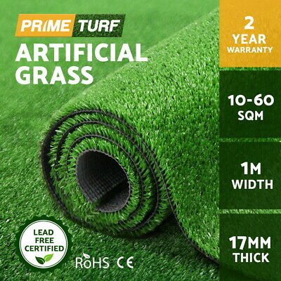 Primeturf 10-60 SQM Synthetic Turf Artificial Grass Fake Olive Plant Fake Lawn