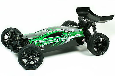 Monstertronic Brushless RC Buggy Commander V3 Pro 1:10 Offroad 4WD Racer Lipo