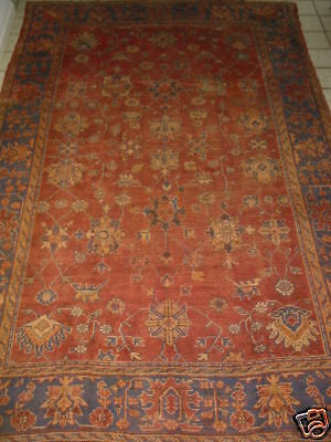 Antique West Anatolian Oushak Turkish Rug B-7985