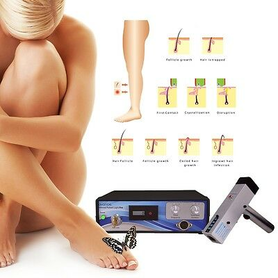 IPL-650 Intense Pulsed Light Permanent Hair Removal System and Epilation Kit.
