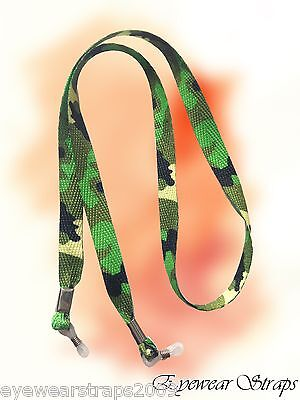 NEW Camouflage Sunglasses Glasses Spectacle Safety Lanyard Retaining Strap Cord