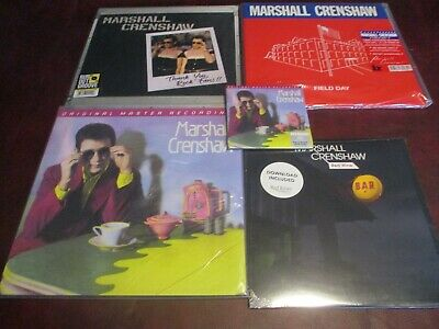 Marshall Crenshaw Mfsl 180 Gram Numbered  Audiophile Lp + 24K + 45 Rpm + Live Lp