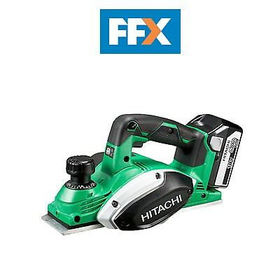 Hitachi P18DSL/JJ 18v Cordless Planer 2 x 5.0ah Li-Ion Batteries