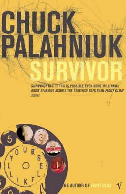 Survivor, Chuck Palahniuk Paperback Book The Cheap Fast Free Post