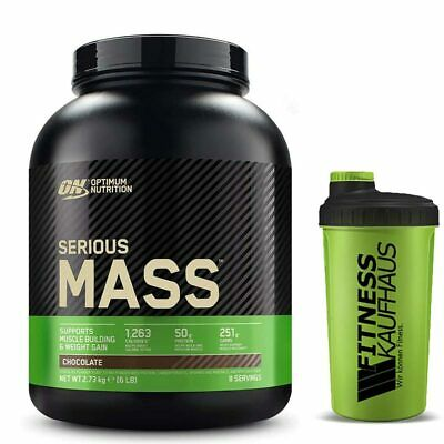 Optimum Nutrition Serious Mass 2727g Weight Gainer + Shaker