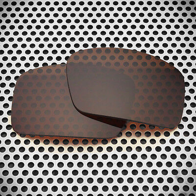 New Volt Polarized Brown Replacement Lenses for Oakley Oil Drum