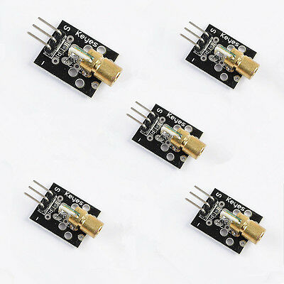 5x KY-008 Laser Transmitter Module For for arduino AVR PIC Factory Price