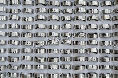 New wholesale jewelry lots 20pcs fashion stainless steel rings free shipping