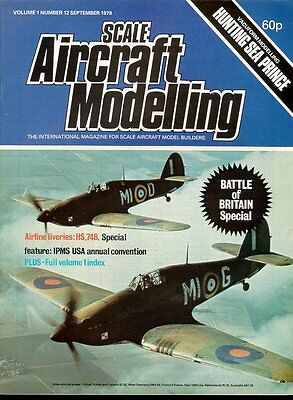 Scale Aircraft Modelling Sep 79 Ww2 Raf Battle Of Britain Markings & Camouflage
