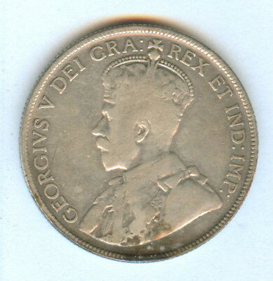 Canada 1932  50 Cents Coin - Scarce Date