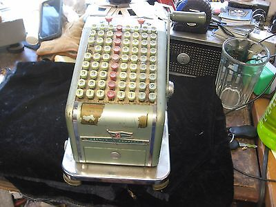 Vintage Hedman F&E Check Protector Printer Writer No. 5073692