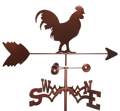 Rooster Weathervane (Roof Mounting Included)