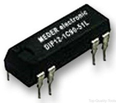 RELAY, REED, DIP, 12VDC, Part # DIP12-1C90-51L