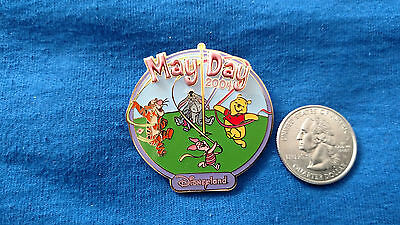 Disney Pin Pooh & Friends May Day Free D Maypole Ribbons DLR LE-1000 LOT/SET 1