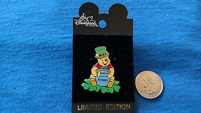 LOT/SET OF 1 Disney Pin Winnie the Pooh with Hunny Pot AND HAT OPENING RARE!!
