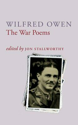 The War Poems Of Wilfred Owen by Wilfred Owen Paperback Book The Cheap Fast Free