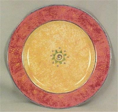 Sakura Malaga Salad Plate Colorful Stoneware Abstract Art Dinnerware