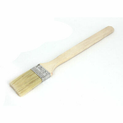 """2"""" Width 300mm Wooden Handle Bristle Painting Oil Paint Brush Tool"""