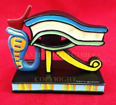 Ancient Egyptian Culture Wedjat Eye Of Horus Figurine Protection Wealth Health