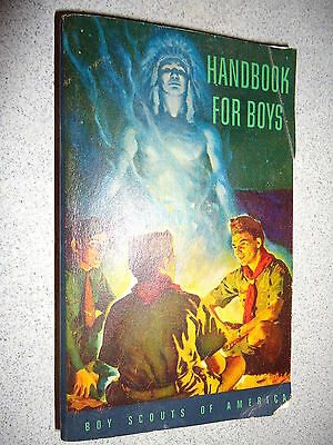 Vintage Boy Scouts Of America Handbook Sept. 1958 5th Ed. 12th Print