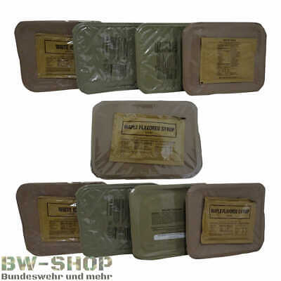 Us Armee Tagesration Neu Army Food Mre Großration Notration Bw Epa +38 Gerichte+