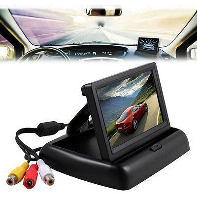 4.3 Inch TFT LCD Color Screen Monitor for Car Rear View System Camera GPS DVD UK