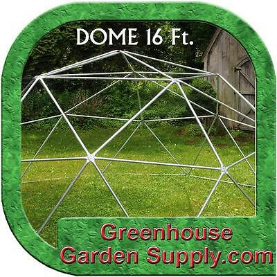 GEODESIC DOME 16 Ft.  Frame Only - BURNING MAN or Greenhouse
