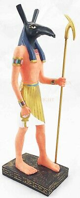 Ancient Egyptian God Seth Set Standing Statue with Base Figurine Collectibles