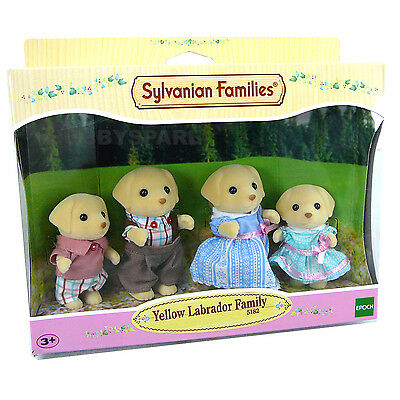 New Sylvanian Families Yellow Labrador Family  Doll Figure Set 5182 New Release