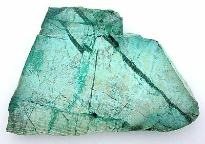 215 Grams Chrysocolla Sonoran Slice Slab Cab Cabochon Gemstone Gem Rough B20A119