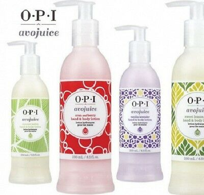 OPI Avojuice Skin Quenchers Hand & Body Lotion 600ML ~ NEW DESIGN FOR 2015 ~