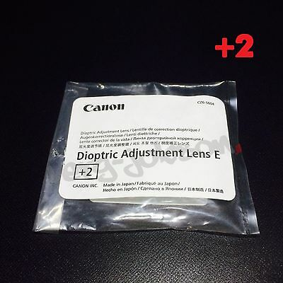 Canon ADJUSTE +2 Diopter-Adjustment Correction Lens Eyepiece for EOS KISS New