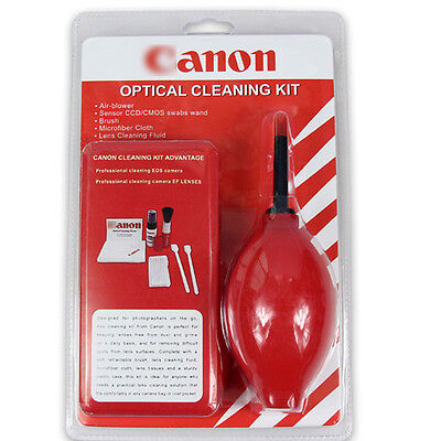 RED 7-in-1 Professional Lens Cleaning Kit For Canon Nikon Olympus Sony Pentax