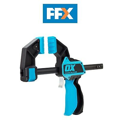 Ox Tools P201236 Pro Heavy Duty Bar Clamp 900mm / 36in