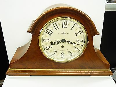 630-230 Howard Miller Ambassador  Mantel Clock  In Oak Finish