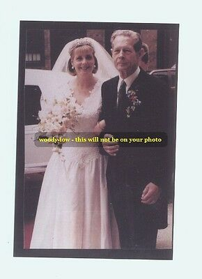 """mm149-wedding of Maria  daughter of King Michael of Romania - Royalty photo 6x4"""""""