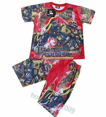 New Transformer multicolor Outfit T-SHIRT #464 For Age 4-7 Lovely Gift