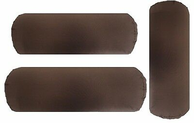 Brown Bolster Cushion and Insert Filled Home Decor Back support Bolster Cushions