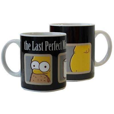 The Simpsons - The Last Perfect Man Ceramic Mug - New & Official In Box