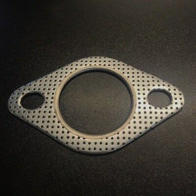 "Reinforced 2 Bolt Exhaust Flange Gasket Decat Downpipe 2""  51mm Universal"