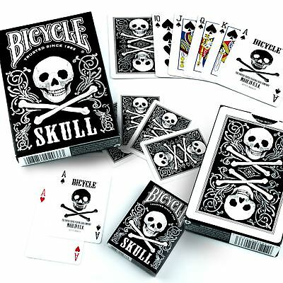 Bicycle Skull Playing Cards Deck 1Deck casino poker game
