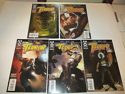 Terror Inc, #s 1, 2, 3, 4, and 5, Complete Series, Marvel Comics