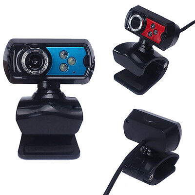 New USB HD Chocolate Webcam Camera Web Cam With Microphone Mic LED For PC Laptop