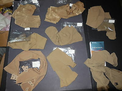 Lot of 7 pairs of Tights No Name Brand Nude Child Adult Footed Skater Stirrup