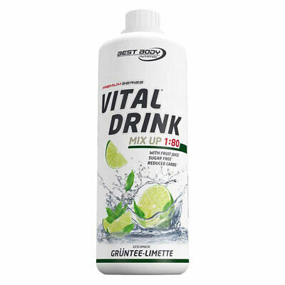 (12,50 €/L) Best Body Nutrition Low Carb Vital Drink 1000ml  div. Sorten