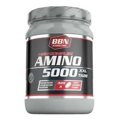 (30,15 EUR/kg) Best Body Nutrition Hardcore Amino 5000 Aminosäure 325 Tabletten