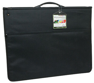 A1 Cushioned Ring Binder Artist Storage Portfolio Case & 3 Acid Free Sleeves