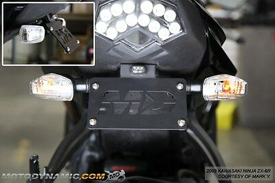 2009-2018 ZX6R 2008-2010 ZX10R Complete Fender Eliminator Kit w/ LED Plate Light