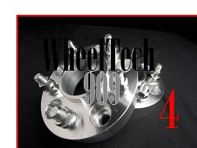 1' Hub Centric 66.1 Wheel Spacers Adapters 5X4.5 = 5X114.3 12X1.25 Fits Nissan