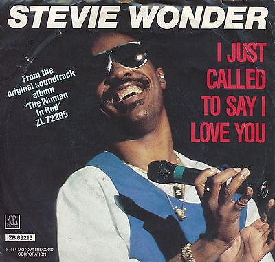 "I Just Called To Say I Love You - Stevie Wonder - Single 7"" Vinyl 11/03"